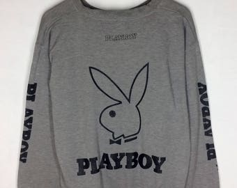 Rare Design Vintage Playboy Big Logo Sweatshirt