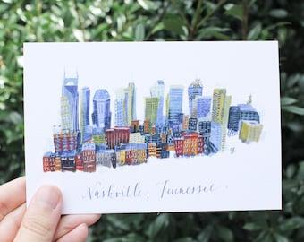 Nashville Skyline // Postcard