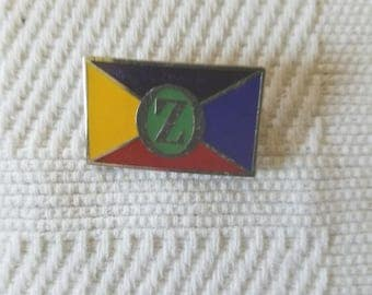 The four lands of Oz and Emerald City Pin