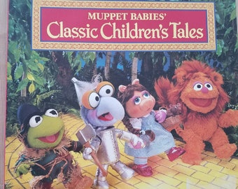 Wizard Oz cover on Muppet Classic Children's Tales