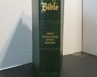 The Holy Bible Crusade New Analytical Study Edition containing the Old and new Testaments in the King James Version
