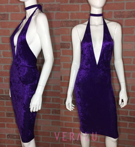 VERALU Purple crush dress
