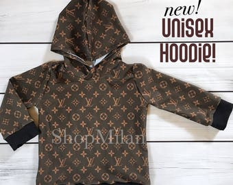Louis Vuitton Inspired hoodie