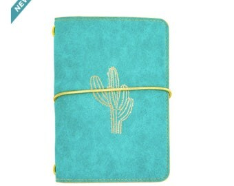 Small Teal Cactus Journal By Recollections™
