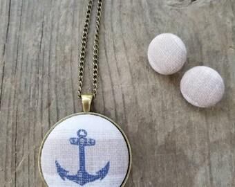 Tan nautical set