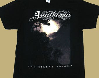 Anathema, The Silent Enigma, T-shirt 100% Cotton