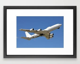 US Navy E-6 Mercury Takeoff - Framed Print