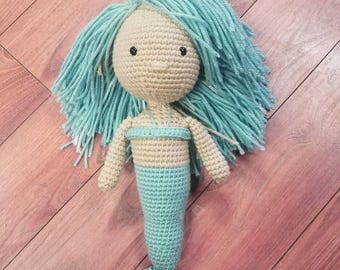 Crochet Mermaid, Mermaid, Crochet, Amigurumi, Mermaid Doll, Crochet Mermaid Doll, Crochet Doll, Little Mermaid, Amigurumi Mermaid, Crocheted