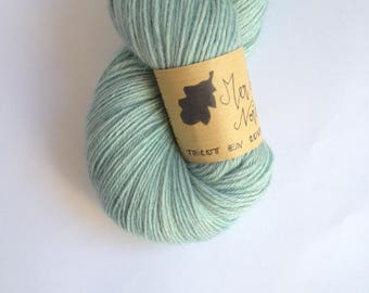 The North Sea - Skein of baby alpaca hand dyed