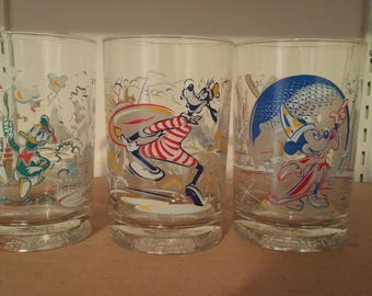 Walt Disney 'Remember the Magic' Drinking Glasses
