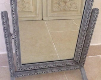 Mirror psyche old shabby chic french