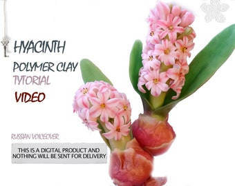 Tutorial of hyacinth from polymeric clay