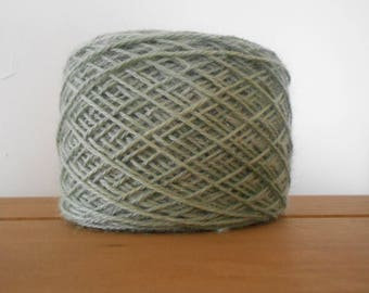 Soft Light Mossy Green Lambswool/Mohair D.K 100 grams