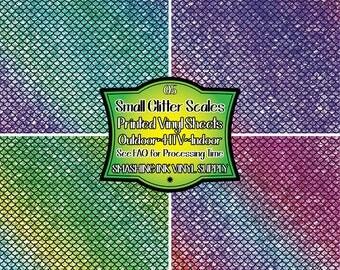 Glitter Memeraid Scale Vinyl/Printed Heat Transfer Vinyl/Pattern Vinyl/Printed 651 Vinyl/Printed 631 Vinyl/Printed Outdoor Vinyl/Printed HTV