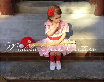 A League of Their Own, Vintage Baseball Dress, A League of Their Own Costume,