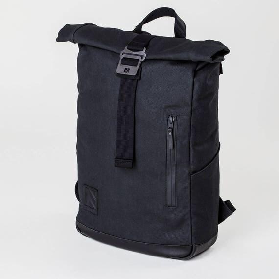 Roll Top Backpack Laptop Backpack Roll Top Backpack Mens