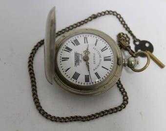 Swiss  pocket watch Systeme Roskopf