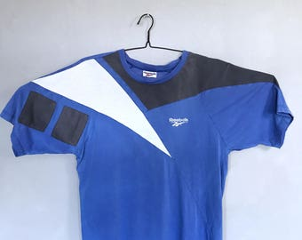 Reebok vintage t-shirt 80s 90s sportswear l / xl