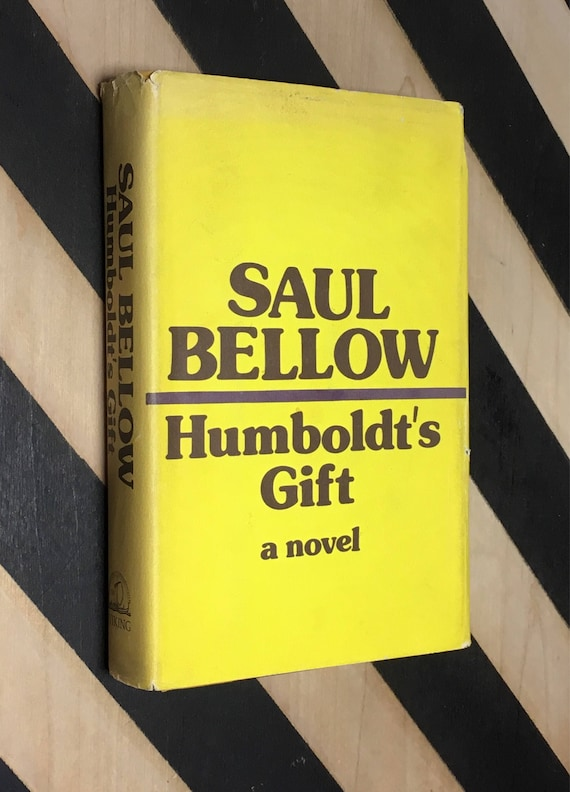 Humboldt's Gift by Saul Bellow (1975) hardcover book