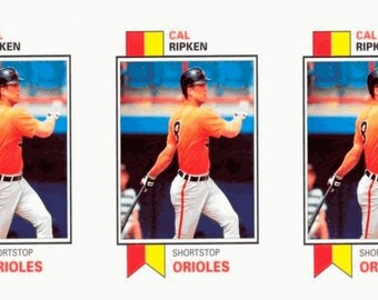 5 - 1993 SCD #27 Cal Ripken Jr. Baseball Card Lot Baltimore Orioles