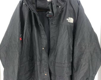 Vintage THE NORTH FACE Gore-Tex Xcr Summit Series Jacket Mens Medium North Face Black Jacket Hoodie North Face Jacket Bomber Size M #A890