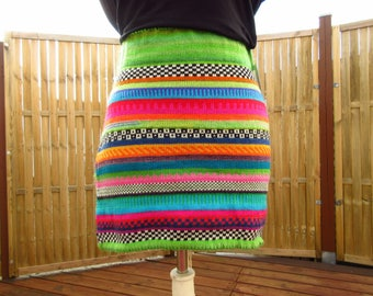Colorful knit Skirt Melo Gr. s