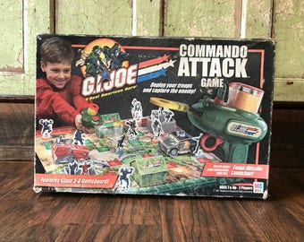 Original GI Joe Commando Attack Game
