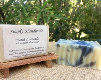 Aniseed & Lavender with Organic Shea Butter Soap