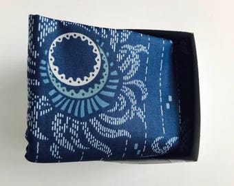 Furoshiki wrapping cloth /  Echo Blue