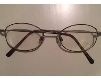 Charmant eyeglass eyewear frames 45-20 140 Mm Made In Japan stewmpunk Harry Potter