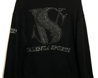 Valenza Sport Big Logo Spell Out Hip Hop Swag