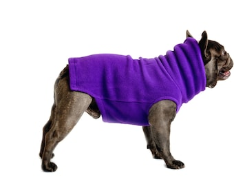 13.  ULTRAVIOLET Polartec 200 dog sweater
