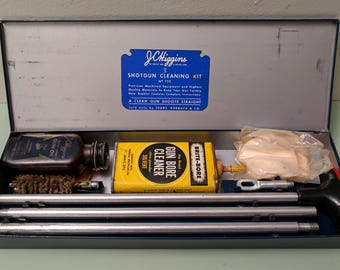 Shotgun Cleaning Kit by J C Higgins 1950s Vintage - USA