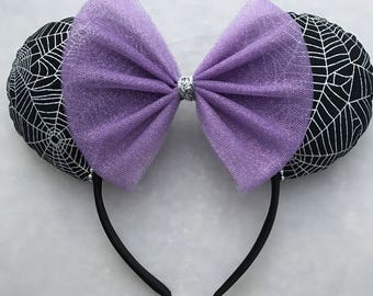 Spider Web Mouse Ears