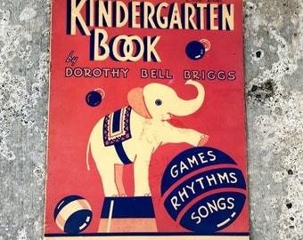 1940 Kindergarten Song Book, Classic Games for Preschool and Homeschool