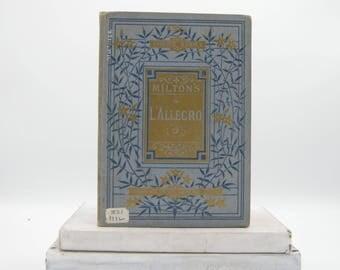 Milton's L'Allegro (Vintage, Poetry)