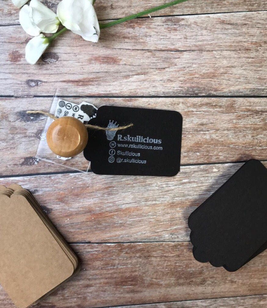 SOCIAL MEDIA STAMP, business card stamp, custom stamp, Social ...