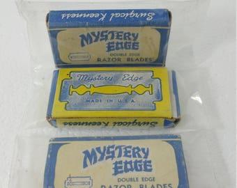 Mystery Edge Single Edge Shaving Razor Blades