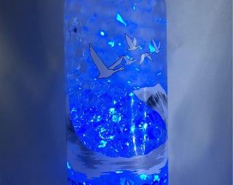 Grey goose vodka lamp-remote control-mancave-christmas-birthday-home living
