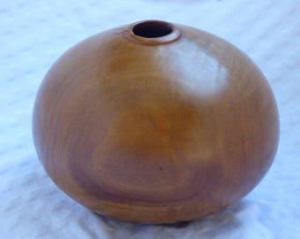 Wood hollow turned Vessel