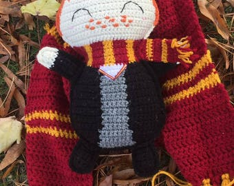 Harry Potter Ron Weasley inspired doll
