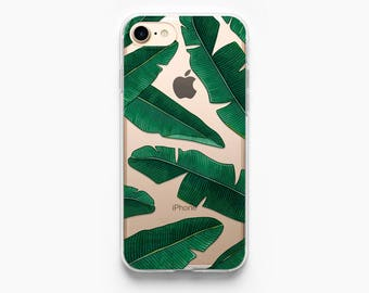 iPhone 7 Case Tropical Leaves iPhone 6 Case iPhone 7 Plus Case iPhone X Case iPhone 6s Case iPhone 8 Case iPhone 6s Plus Case Palm