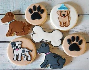 Dog Sugar Cookies