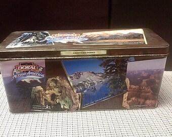 Across America Doral Tin Box.  American Parks edition