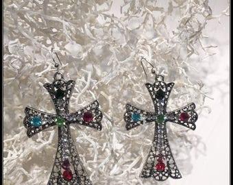 A Family in Christ Birthstone Earrings