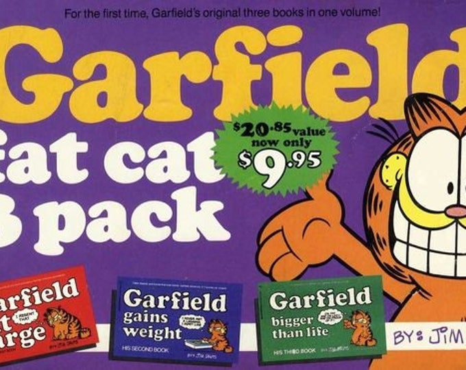 Garfield Fat Cat 3-Pack #1 by Jim Davis At Large/Gains Weight/Bigger Than Life