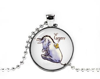 Eeyore Pendant Eeyore Necklace Classic Winnie the Pooh Jewelry Eeyore jewelry