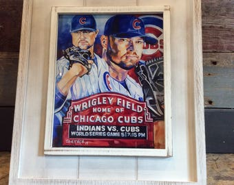 Cubs 2017 World Series Print
