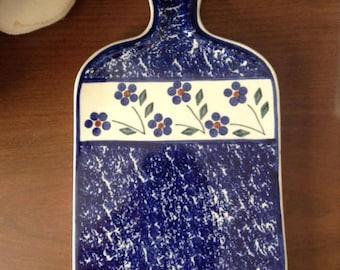 Polish Pottery Cutting Board
