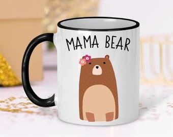 Mom Coffee Mug | Mama Bear Mug | New Mom Mug | Mama Bear Coffee Mug | New Mom Gift | Cute Mom Mug | Baby Shower Gift | Pregnancy Reveal